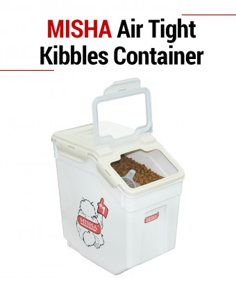 MISHA Air Tight Kibbles Container