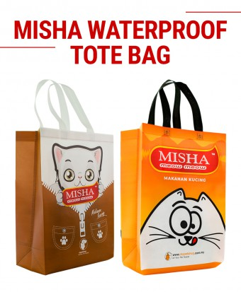 MISHA Waterproof Tote Bag